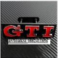 Емблема GTI  за предна решетка.