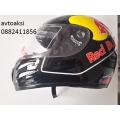 Мото каска Red Bull `черна лак страхотен дизайн модел:868