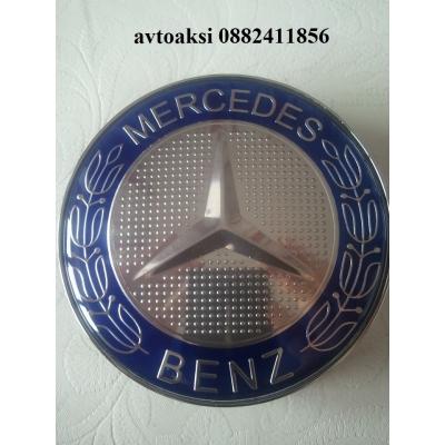 Капачки за джанти MERCEDES 75 мм ЛУКС цената е за 1бр