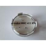 Капачки Пежо 60мм с релефна емблема никел цена за ком.