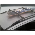 Ски и Сноуборд багажник алуминиев със заключващ механизъм