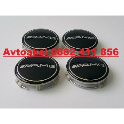Капачки за джанти Mercedes Amg 75 мм