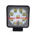 Халоген с 9 мощни диода 12/24V метален 27W цена за 1бр