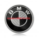 Капачки БМВ 68мм черен карбон цена за 4бр