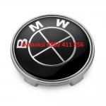 Капачки БМВ 68мм черни цената е за комплект 4бр
