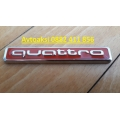 Емблема за Audi quattro метална лукс-6876