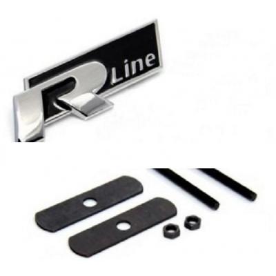 Декорация R line за предна решетка метална