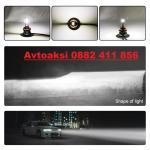 Лед Диодни крушки Мини (М8) Н7-50W 2бр-к-т