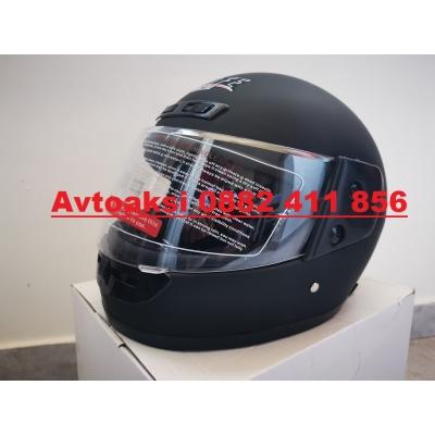 Каска за Мотор черна мат -850-3