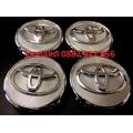 Капачки за джанти Тойота/Toyota 57mm никел