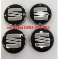 Капачки за джанти Сеат/Seat 55/60mm черни