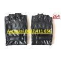 Кожени ръкавици без пръсти-264