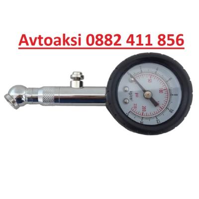 Манометър за гуми метален-2446