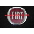 Емблема FIAT/Фиат червено/хром 95мм задна