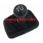 Топка+маншон Голф 4/Golf IV BORA 6ск. черна лайсна