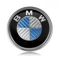 Емблема БМВ синио/бял карбон цената е за 1бр