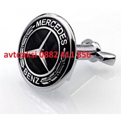 Емблема Мерцедес/Mercedes метална Тип/Тапа