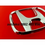 Емблема Хонда/ Honda хром 66х55мм