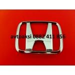 Емблема Хонда/Honda хром 106х86мм