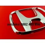 Емблема Хонда/Honda хром 98х80мм