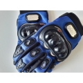 Мото ръкавици с предпазни протектори
