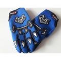Мото/Вело ръкавици сини цена за комплект