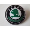 Емблема за Шкода / Skoda 76mm