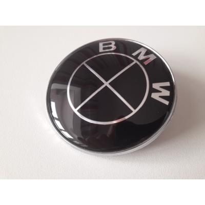 Емблема БМВ black предна 82мм