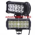 LED Bar с 12 мощни диода 36w- 12/24v цена за 1бр