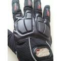 Мото ръкавици с гумен протектор в три цвята!!! черни