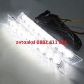Дневни светлини LED 12V 6000K 9 диода