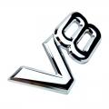 Емблема метални V8 никел