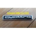 Емблема за Quattro метална лукс-6875