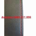 Калъф шиещ BOSS -черен с червен конец перфориран