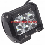 LED Bar с 6 мощни диода 18w- 12/24v цена за 1бр нови