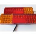 Стопове LED диодни 24V чисто нови цена за 2бр